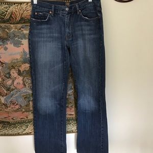 """7 For All Mankind """"A"""" BootCut Jeans"""